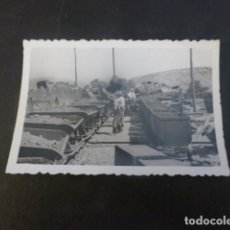 Fotografia antiga: ALMAGRERA HUELVA MINAS ANTIGUA FOTOGRAFIA 6 X 9 CMTS 1952. Lote 224954050
