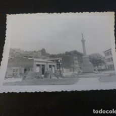 Fotografia antiga: ALBELDA HUESCA PLAZA ANTIGUA FOTOGRAFIA 7 X 10 CMTS 1955. Lote 224955680