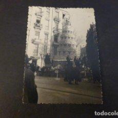 Fotografia antiga: VALENCIA FALLAS ANTIGUA FOTOGRAFIA 7 X 10 CMTS. Lote 224960075