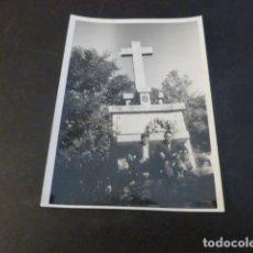 Fotografia antiga: MIRAFLORES DE LA SIERRA MADRID CRUZ DE LOS CAIDOS ANTIGUA FOTOGRAFIA 7 X 10 CMTS. Lote 224961262