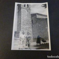 Fotografia antiga: MIRAFLORES DE LA SIERRA MADRID IGLESIA ANTIGUA FOTOGRAFIA 7 X 10 CMTS. Lote 224961461