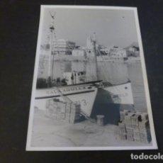 Fotografia antiga: CALA RATJADA MALLORCA EL PUERTO ANTIGUA FOTOGRAFIA 7,5 X 10 CMTS. Lote 226143231