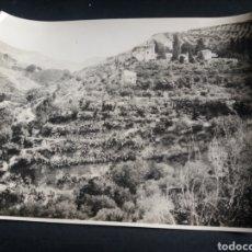 Fotografía antigua: PRECIOSA FOTO GRANDE GRANADA VISTA GENERAL GENERALIFE ALHAMBRA ARQUITECTURA ORIGINAL C.1915 21X16CM. Lote 226779641