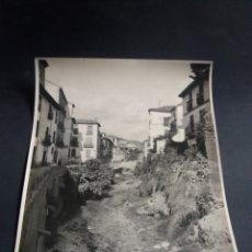 Fotografía antigua: PRECIOSA FOTO GRANDE GRANADA VISTA GENERAL DARRO ALBAICIN ARQUITECTURA ORIGINAL C.1915 21X16CM. Lote 226780250