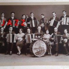 Fotografía antigua: JAZZ - ORQUESTA DE JAZZ - 1920'S. Lote 228431900