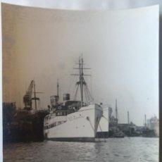 Photographie ancienne: UNION NAVAL DE LEVANTE BARCO MIGUEL PRIMO DE RIVERA 13 SEPTIEMBRE DE 1926 TAMAÑO 17 X 23 CM.. Lote 228711885