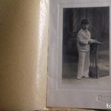 Fotografía antigua: FOTO PRIMERA COMUNIÓN NIÑO. FOTOGRAFÍA EDUARD 1926. Lote 233493315