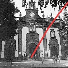 Fotografía antigua: ANTIGUO NEGATIVO. CLICHÉ DE FOTOGRAFÍA. MUNICIPIO DE TEROR. LAS PALMAS DE GRAN CANARIAS.ANTIGUA.. Lote 234009935