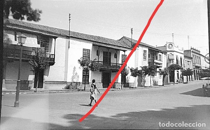 ANTIGUO NEGATIVO. CLICHÉ DE FOTOGRAFÍA. MUNICIPIO DE TEROR. LAS PALMAS DE GRAN CANARIAS.ANTIGUA. (Fotografía Antigua - Gelatinobromuro)