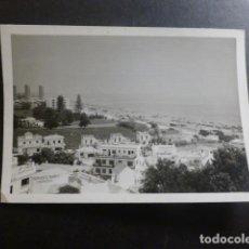 Fotografia antica: TORREMOLINOS MALAGA VISTA ANTIGUA FOTOGRAFIA 7,5 X 10,5 CMTS. Lote 234434020