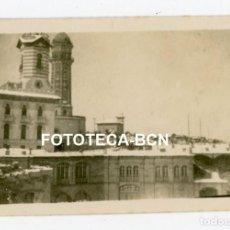 Fotografía antigua: FOTO ORIGINAL BARCELONA NEVADA PARQUE ATRACCIONES TIBIDABO TORRE DE LAS AGUAS AÑOS 20. Lote 234809640