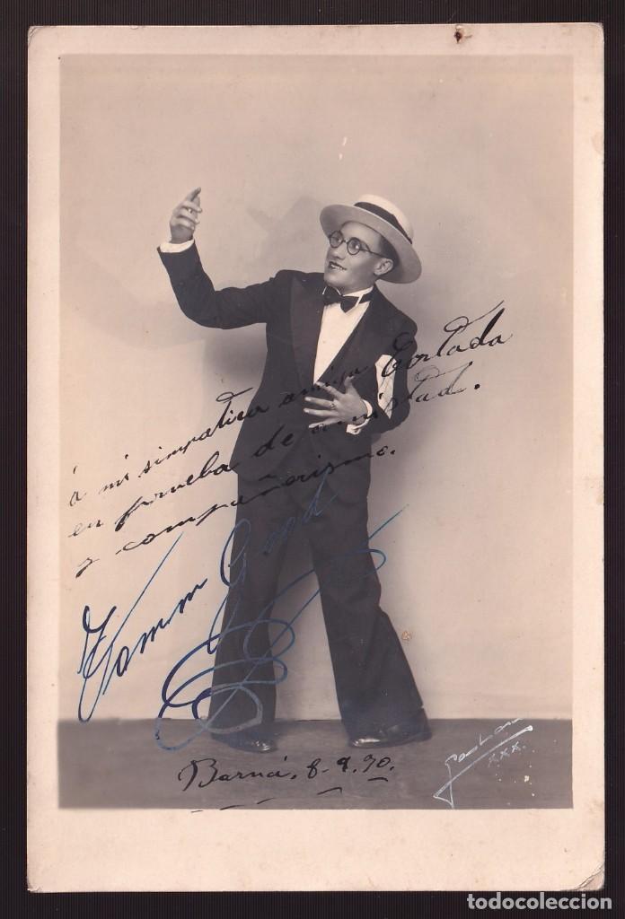 FOTO *GALÁN, 1930* MODELO *TOMM GOOD, 1930* MEDS: 114X172 MMS. (Fotografía Antigua - Gelatinobromuro)
