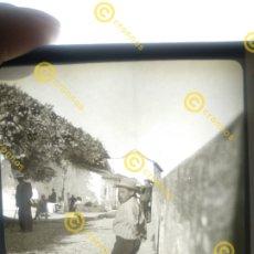 Fotografía antigua: PLACA DE CRISTAL EN POSITIVO GRANADA AÑO 1900.. Lote 235551035