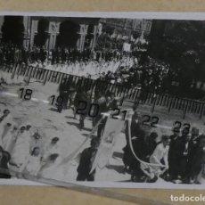 Fotografía antigua: AVILES AÑOS 40 , 50. Lote 236009315