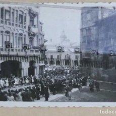 Fotografía antigua: AVILES AÑOS 40 , 50. Lote 236010590