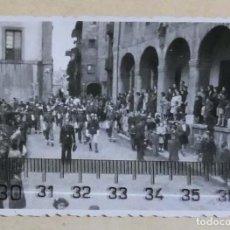 Fotografía antigua: AVILES AÑOS 40 , 50. Lote 236011525