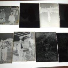 Fotografía antigua: LOTE DE PLACAS DE CRISTAL NEGATIVOS A IDENTIFICAR. SOBRE 1930. Lote 236133490