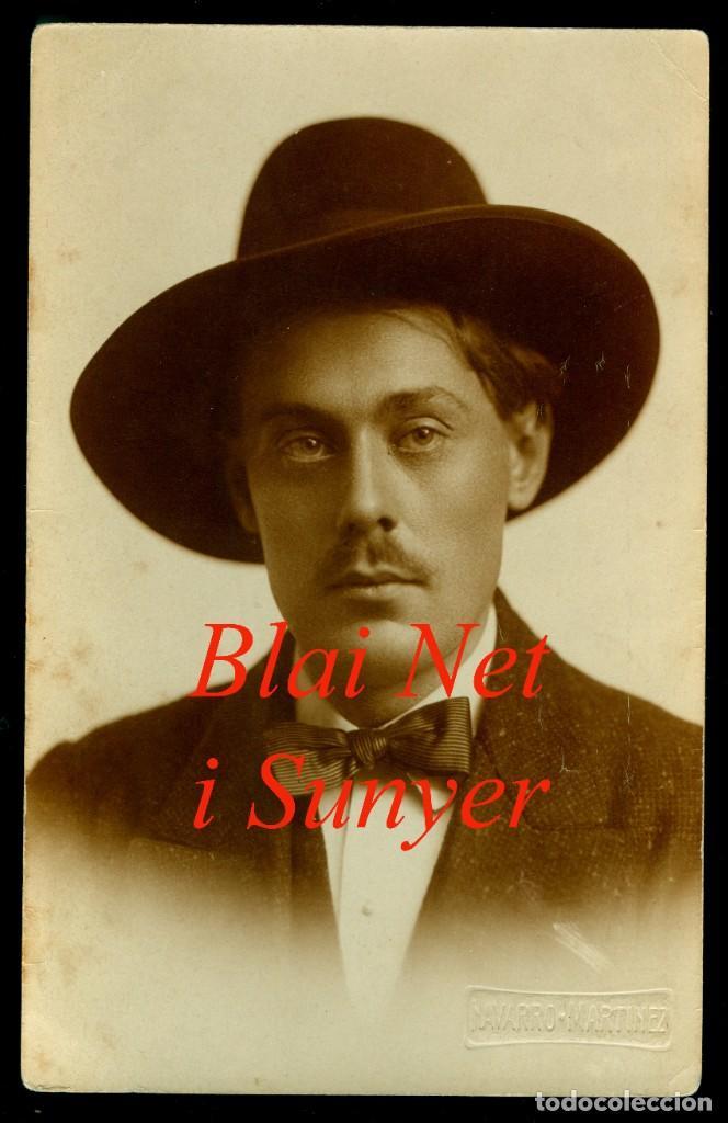 PIANISTA - BLAI NET I SUNYER - 1910'S (Fotografía Antigua - Gelatinobromuro)
