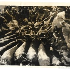 Fotografía antigua: 1957 FOTO PRESS PRENSA ÚNICA SAN FERMÍN PAMPLONA 24X18 APROX. Lote 238275775