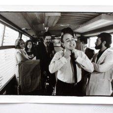 Fotografía antigua: JORDI PUJOL, PASCUAL MARAGALL. 1980'S. FOTOGRAFÍA EN PAPEL BARITADO 30X40 CM.. Lote 240264710