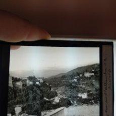 Fotografía antigua: PLACA CRISTAL EN POSITIVO AÑO 1900 GRANADA. DIMENSIONES 10X8,5 CM FOTÓGRAFO A. MARUAUD. Lote 241190345