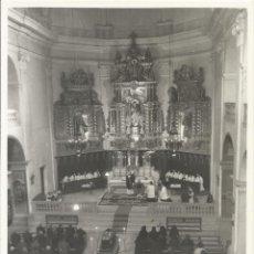 Fotografía antigua: ENTERRAMENT DE MOSSÈN MIQUEL. CENTELLES. 1963. BUEN ESTADO. 14,5X10 CM. ESCRITA POR DETRÁS.. Lote 243834115