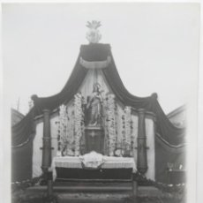 Fotografía antigua: VALENCIA ALTAR ARTILLERIA TAMAÑO 17 X 12,5 CM.. Lote 245356685