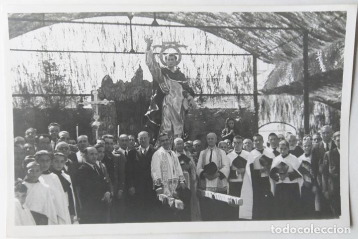 VALENCIA SAN VICENTE FERRER TAMAÑO 17 X 12,5 CM. (Fotografía Antigua - Gelatinobromuro)