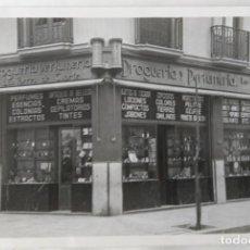 Fotografía antigua: VALENCIA DROGUERIA Y PERFUMERIA TORRES DE QUARTE TAMAÑO 17 X 12,5 CM.. Lote 245357975