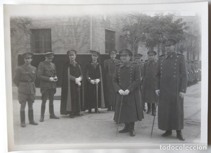 VALENCIA MILITARES PROCESION CORPUS TAMAÑO 17 X 12,5 CM. (Fotografía Antigua - Gelatinobromuro)