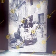 Fotografía antigua: FOTOGRAFIA ANTIGUA. PLACA DE CRISTAL NEGATIVO GELATINO BROMURO VALENCIA. PRINCIPIOS DEL SIGLO XX.. Lote 251111210