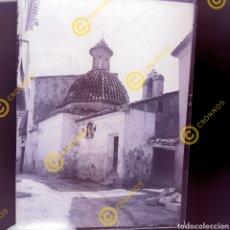 Fotografía antigua: PLACA CRISTAL NEGATIVO GELATINO BROMURO VALENCIA ERMITA DE LA VERA. PP S. XX. Lote 251281405