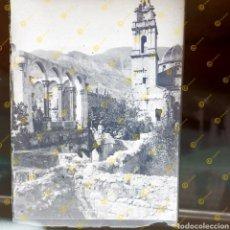 Fotografía antigua: COLECCIÓN FOTOGRAFICA PLACAS CRISTAL GELATINO BROMURO VALENCIA MONASTERIO DE SIMAT DE VALDIGNA.. Lote 251403050
