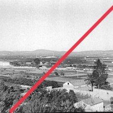 Fotografía antigua: ANTIGUO NEGATIVO DE FOTOGRAFÍA. CLICHÉ. MUNICIPIO DE XATIVA (JÁTIVA) VALENCIA.VISTA.. Lote 251688300