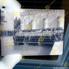 Fotografía antigua: PLACA CRISTAL GELATINO BROMURO VALENCIA COMUNIDAD VALENCIANA. SOBRE 1900. Lote 252975440