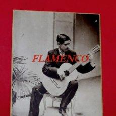 Fotografía antigua: FLAMENCO - GUITARRISTA - BARCELONA - 1920'S - FOTOGRAFIA JUPITER. Lote 253259695