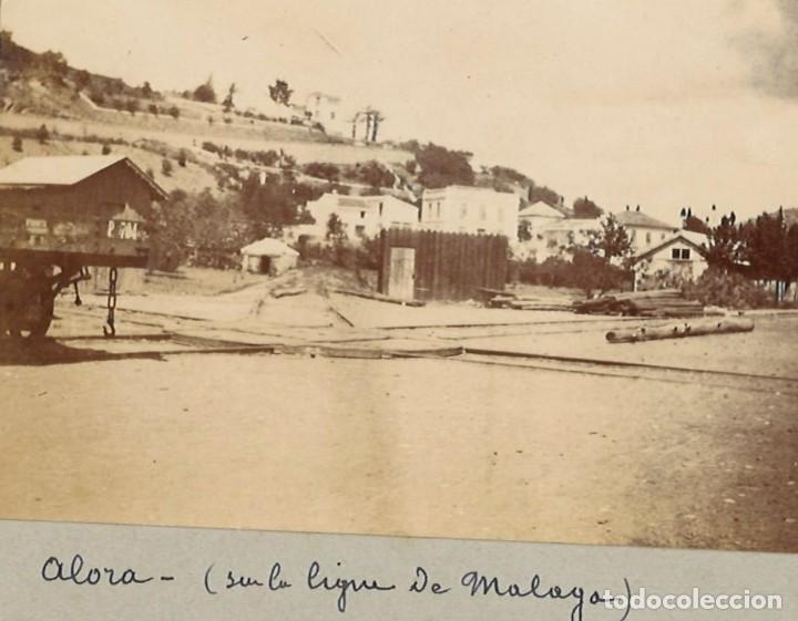 ALHORA, CERCA DE MÁLAGA (Fotografía Antigua - Gelatinobromuro)