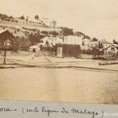 Fotografía antigua: ALHORA, CERCA DE MÁLAGA. Lote 253549890