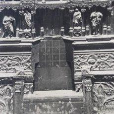 Fotografía antigua: SEVILLA, CATEDRAL, RETABLO DEL ALTAR MAYOR. GARZÓN, GRANADA.. Lote 254940810