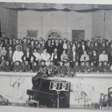 Fotografía antigua: CARTAGENA, REPRESENTACIÓN TEATRAL, BOYS SCOUT. CASAÚ. Lote 254948750