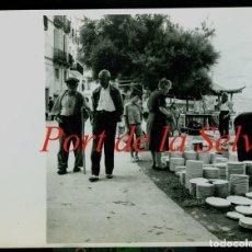 Fotografía antigua: PORT DE LA SELVA - MERCAT - 1960 - MERCAT. Lote 255346845