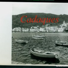 Fotografía antigua: CADAQUES - COSTA BRAVA - 1960. Lote 255347800