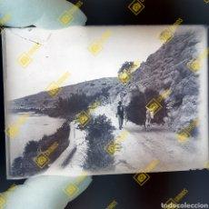 Fotografía antigua: PLACA CRISTAL GELATINO BROMURO VALENCIA 1920-30. Lote 257881240