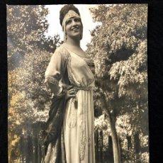 Fotografía antigua: FOTOGRAFÍA FOTOMONTAJE ORIGINAL WALKEN [JOSÉ CALVACHE]. ANGELINA VILAR. PORTADA MUNDO GRÁFICO 1919.. Lote 260268445
