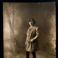 Fotografía antigua: MATILDE MORENO POR ALFONSO (1880-1953). PUBLICADA EN MUNDO GRÁFICO, 389. 9 ABRIL 1919.. Lote 260268535