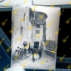 Fotografía antigua: PLACA CRISTAL GELATINO BROMURO JERICA CASTELLÓN 1920. Lote 261947755