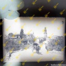 Fotografía antigua: ANTIGUA PLACA DE CRISTAL DE GELATINO BROMURO JERICA CASTELLÓN 1920-30. Lote 262362680