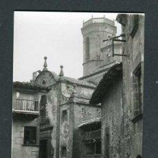 Fotografía antigua: GIRONA. RUPIT. BALCÓN TÍPICO. 23/9/1956. Lote 262933940