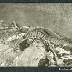 Fotografía antigua: PEÑISCOLA. ESCALERAS DEL CASTILLO. C. 1965. Lote 262937395