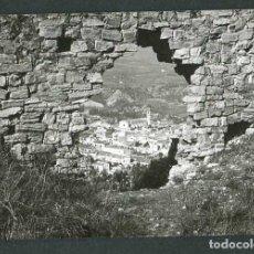Fotografía antigua: PUEBLO. CASTILLO EN RUINAS. PUEBLO. C. 1965. Lote 262937755